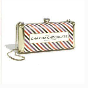 kate spade cha cha chocolate candy bar purse bag